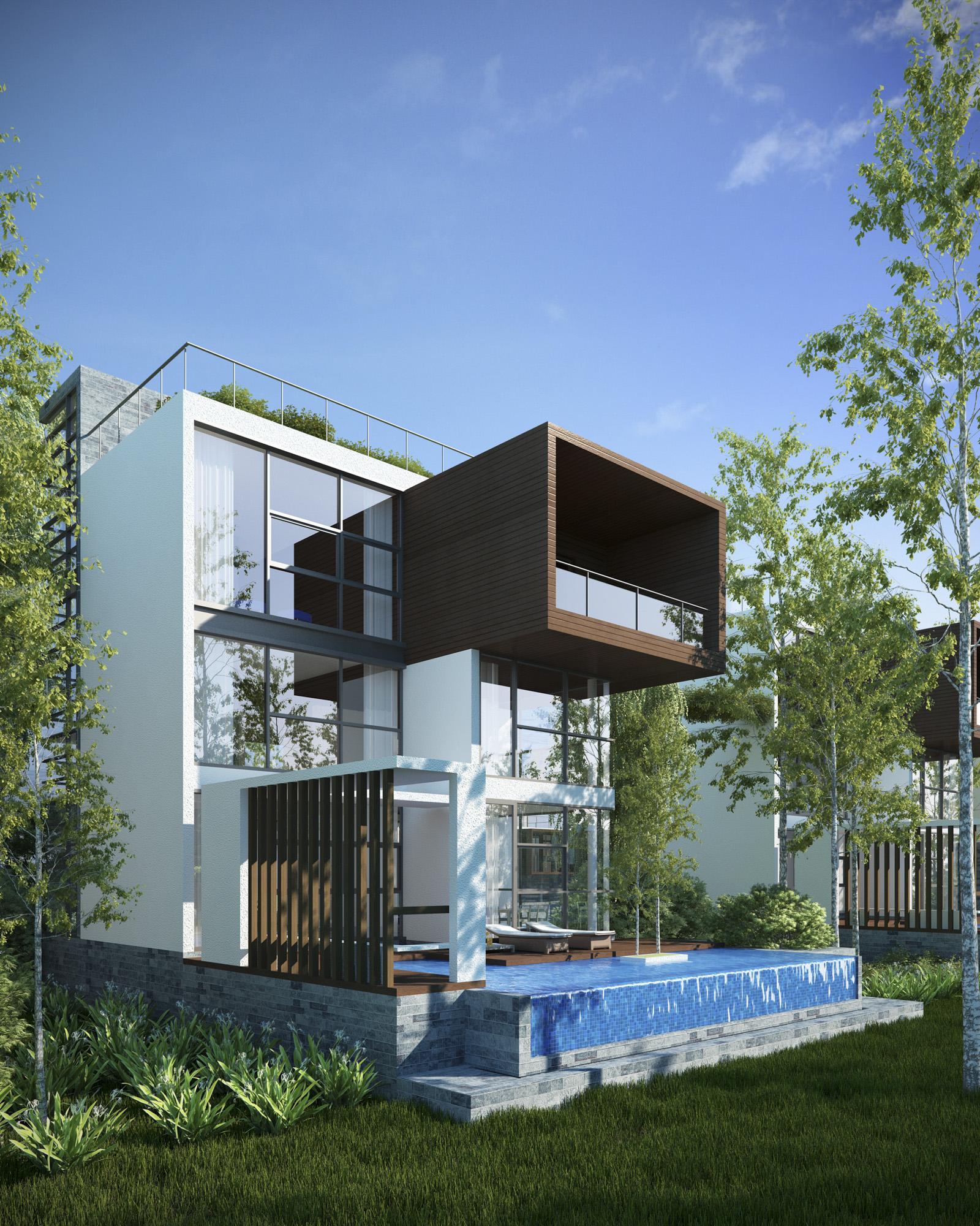 Song Hau Residence Exterior 1