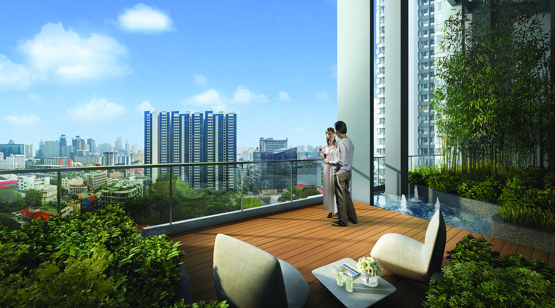Sturdee Residence Exterior 5 Sky Terrace