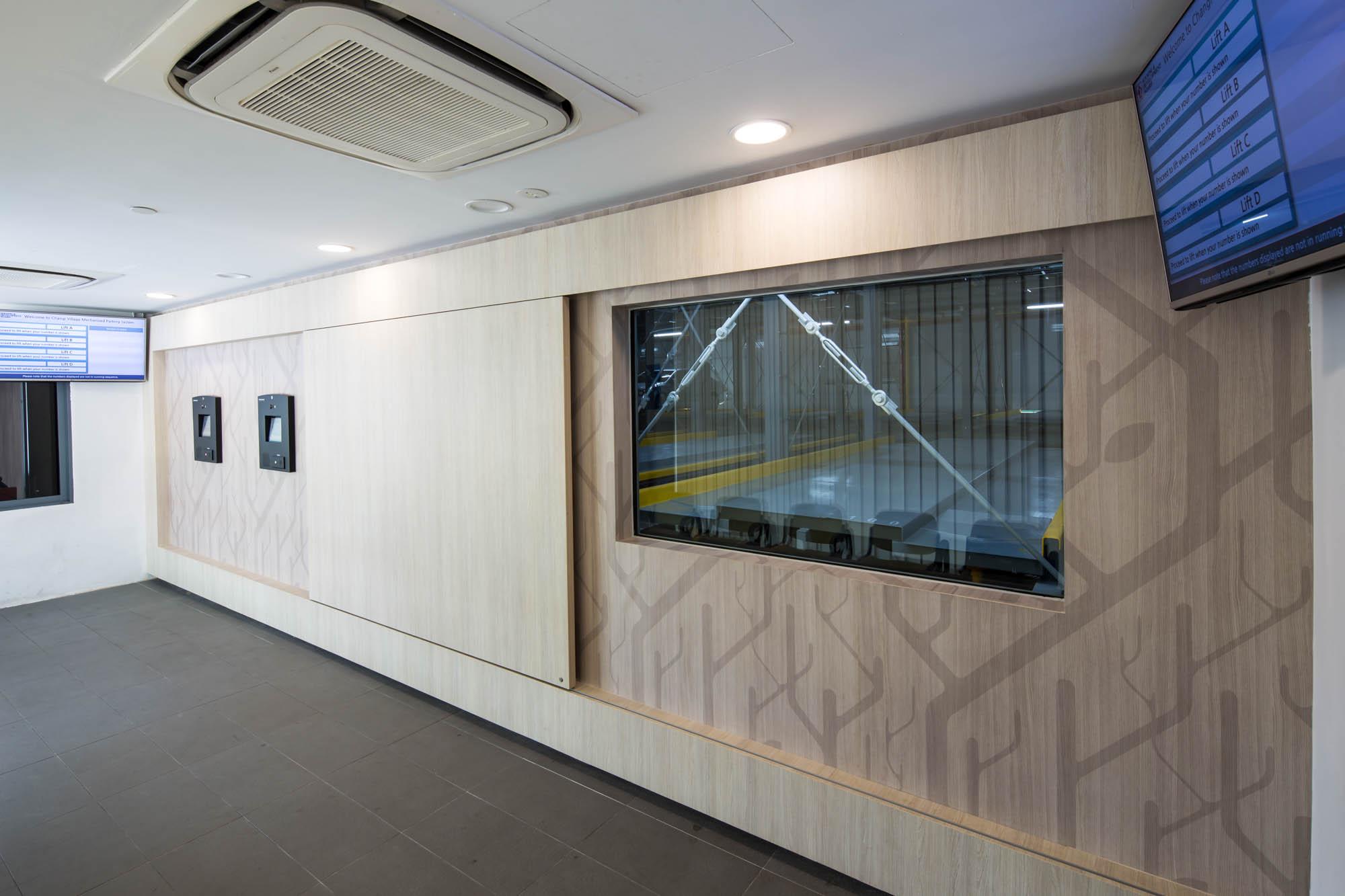 Changi Mechanical Carpark Interior 1