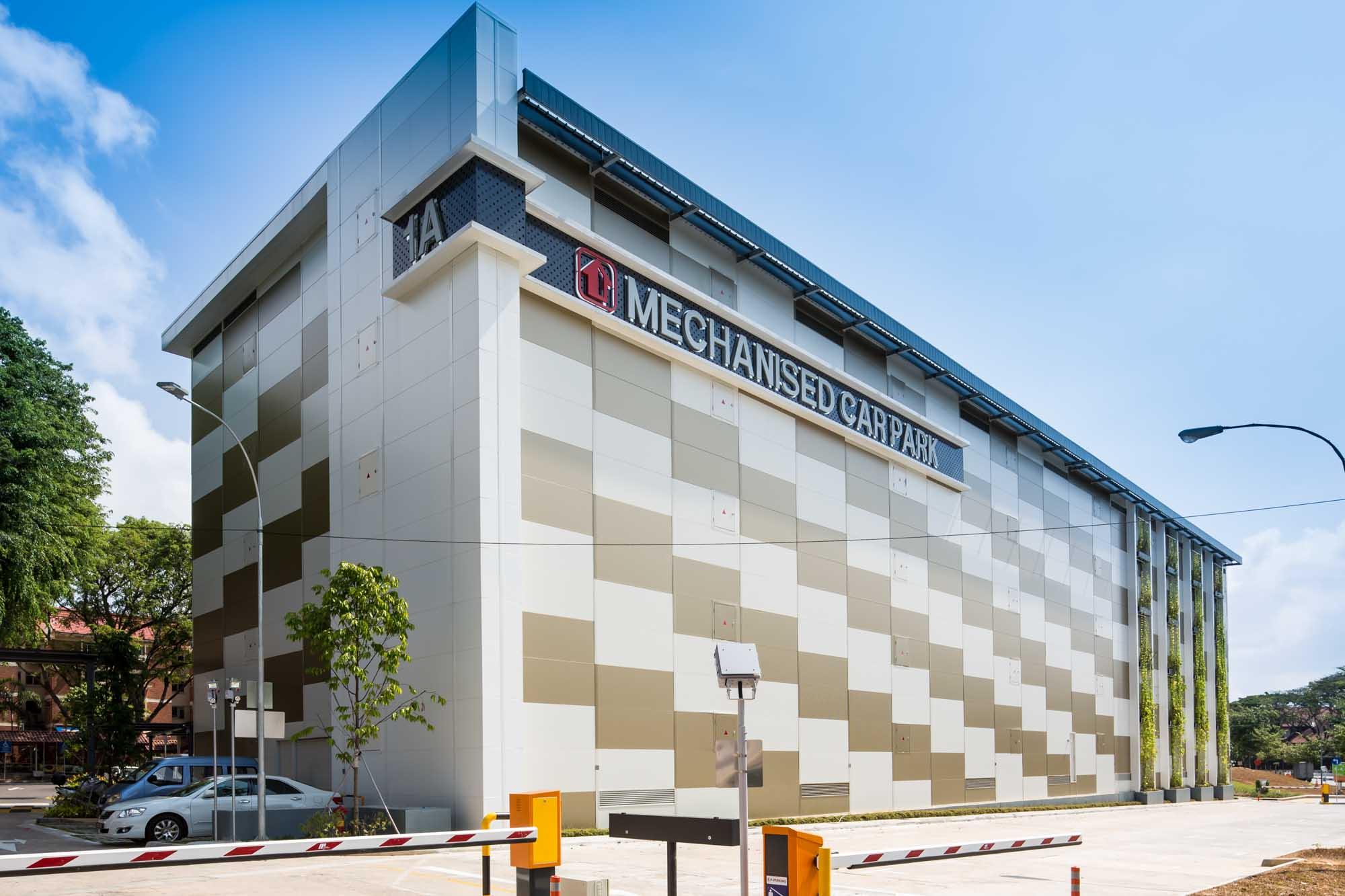 Changi Mechanical Carpark Exterior 3