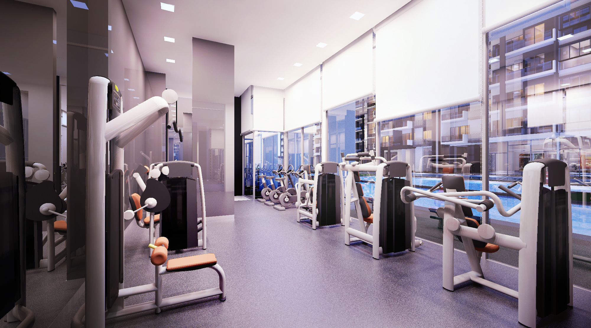 Axis Residences Gym