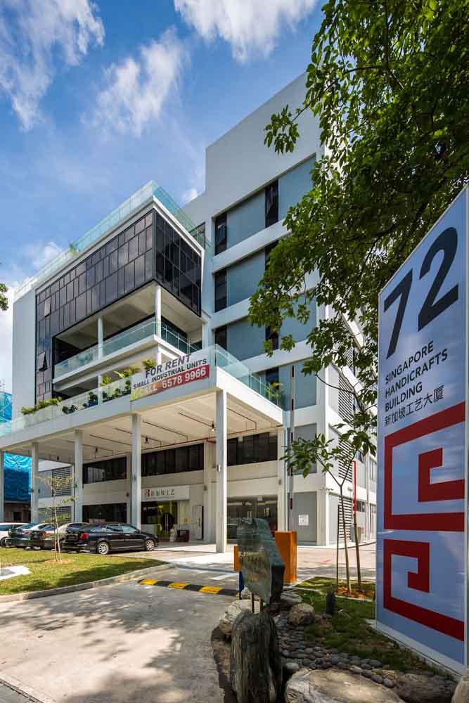 Industrial Building at <br>Eunos Avenue 7
