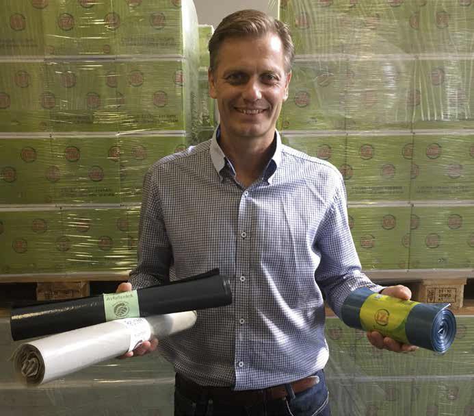 Plastgjenvinning er en relativt ung bransje, men har vært gjennom en rivende utikling på få år. – Miljøeffekten er undervurdert, mener Trond Lia.