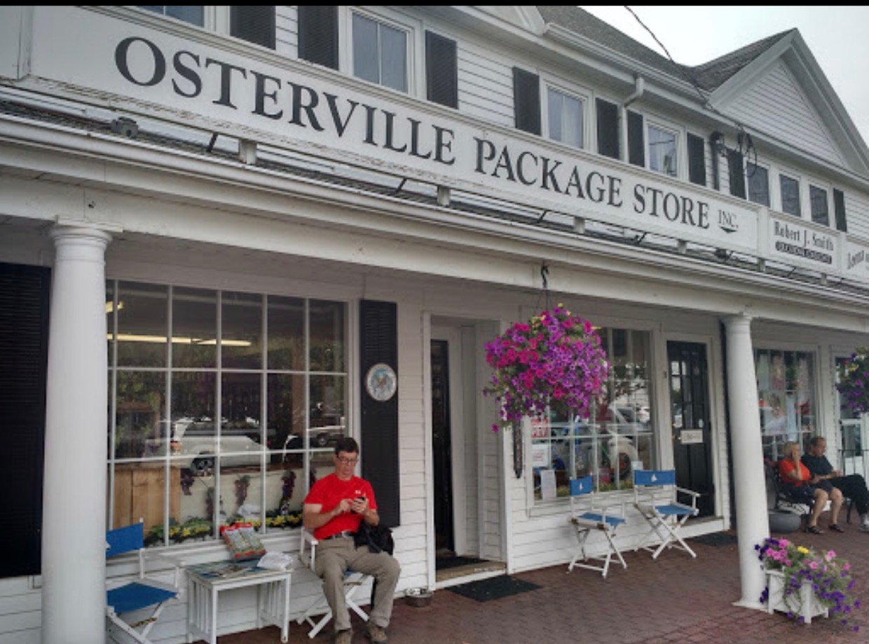 Tasting event  1-3 PM July 14 at The   Osterville Package Store Celebrating 80 Years in Business!
