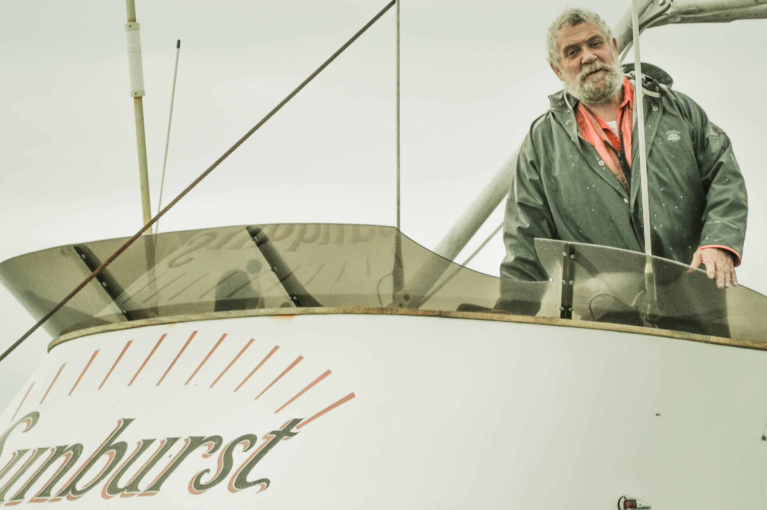 Captain Willie Porter. Homer, AK