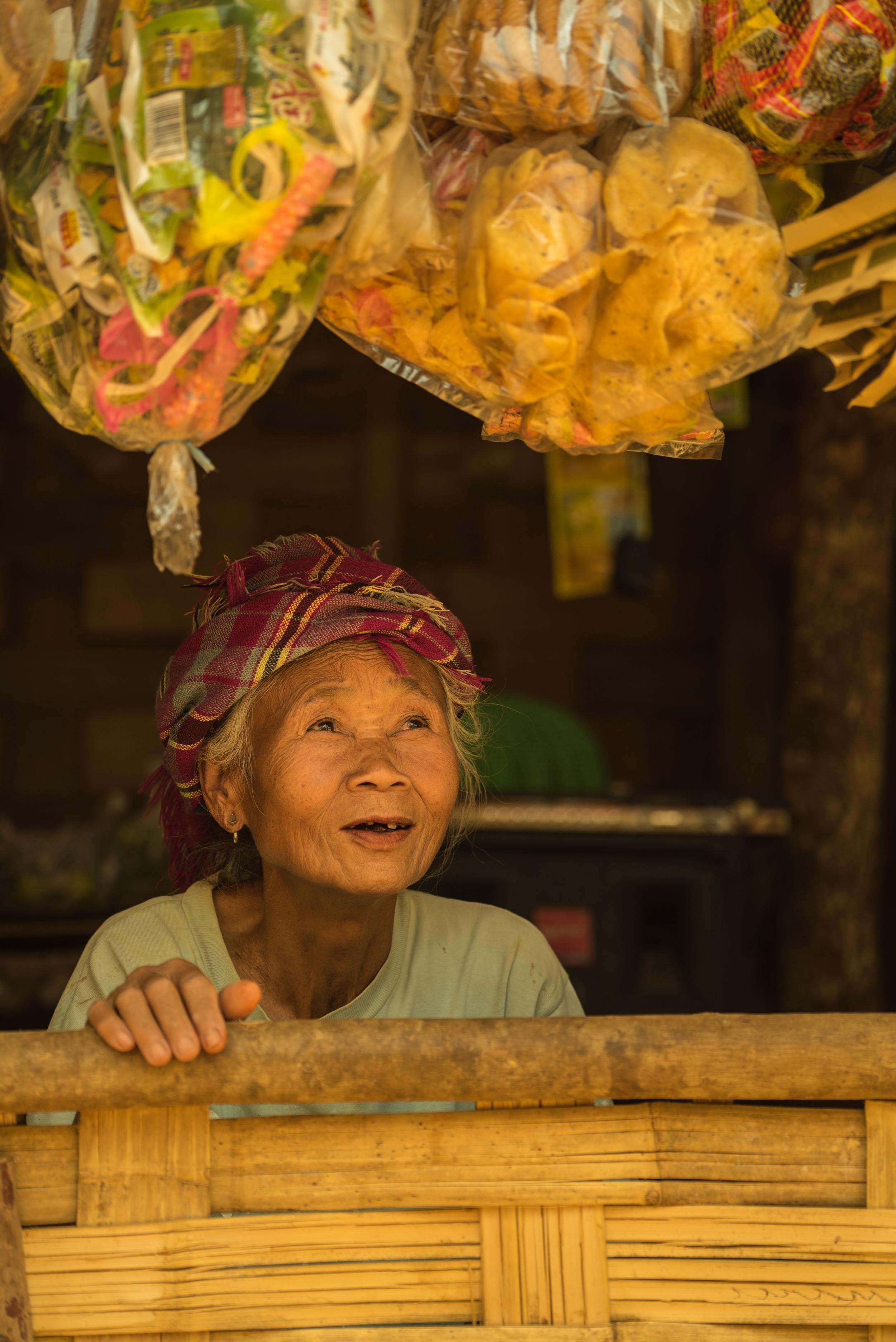 Khmu Woman. North Laos