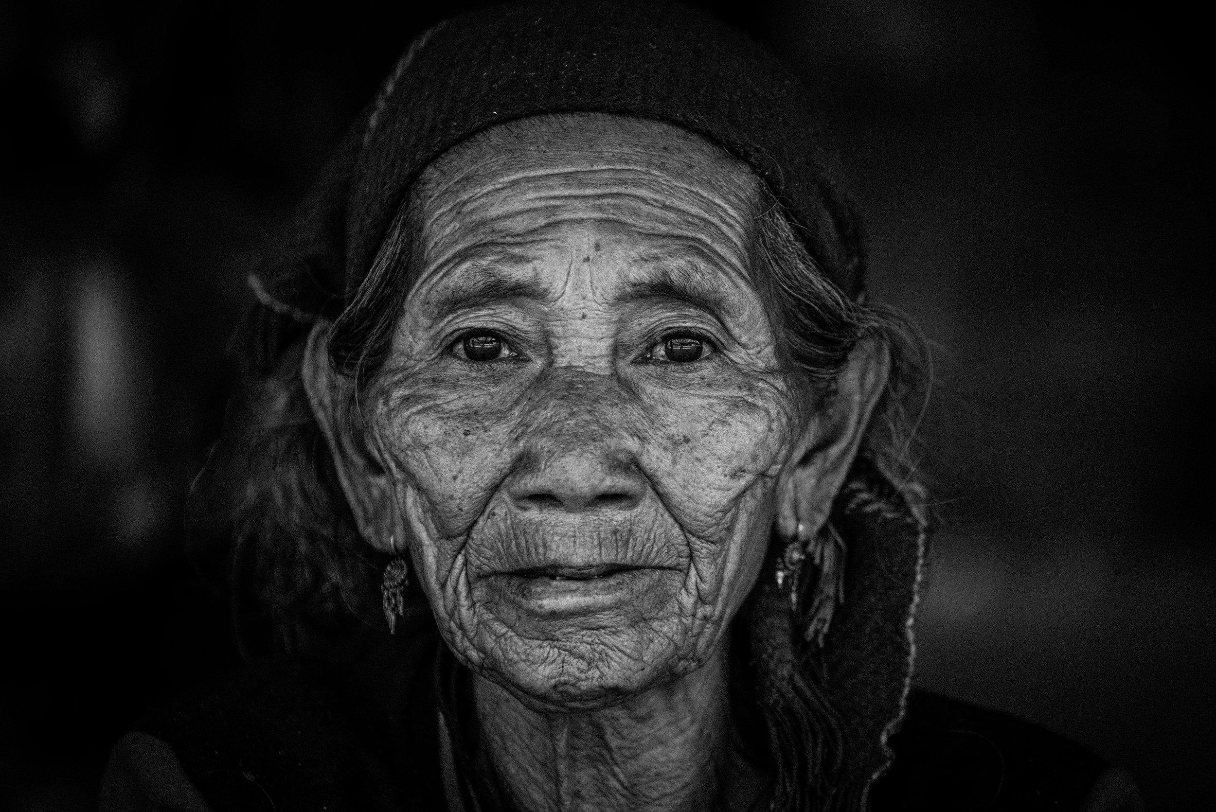 Khmu Woman. North Laos.
