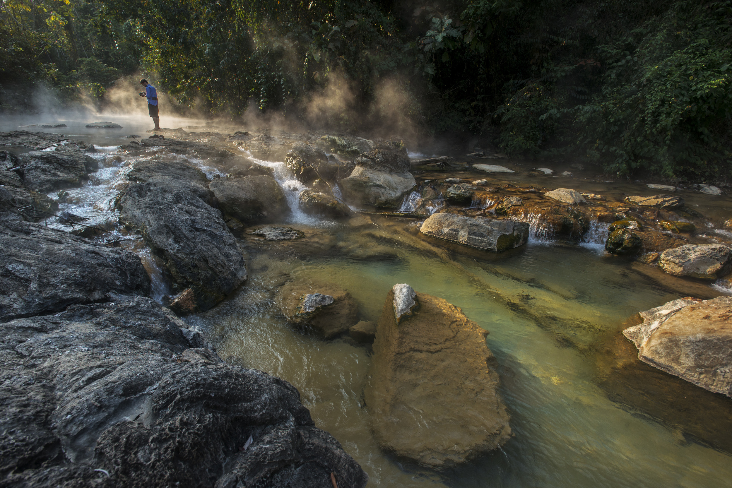 Rapids at the Sulphur Plaza