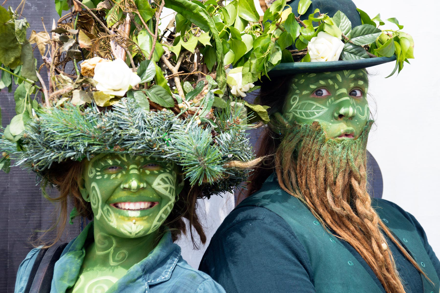 15. The Green Men from Porthleven at the Royal Cornwall Show copy.JPG