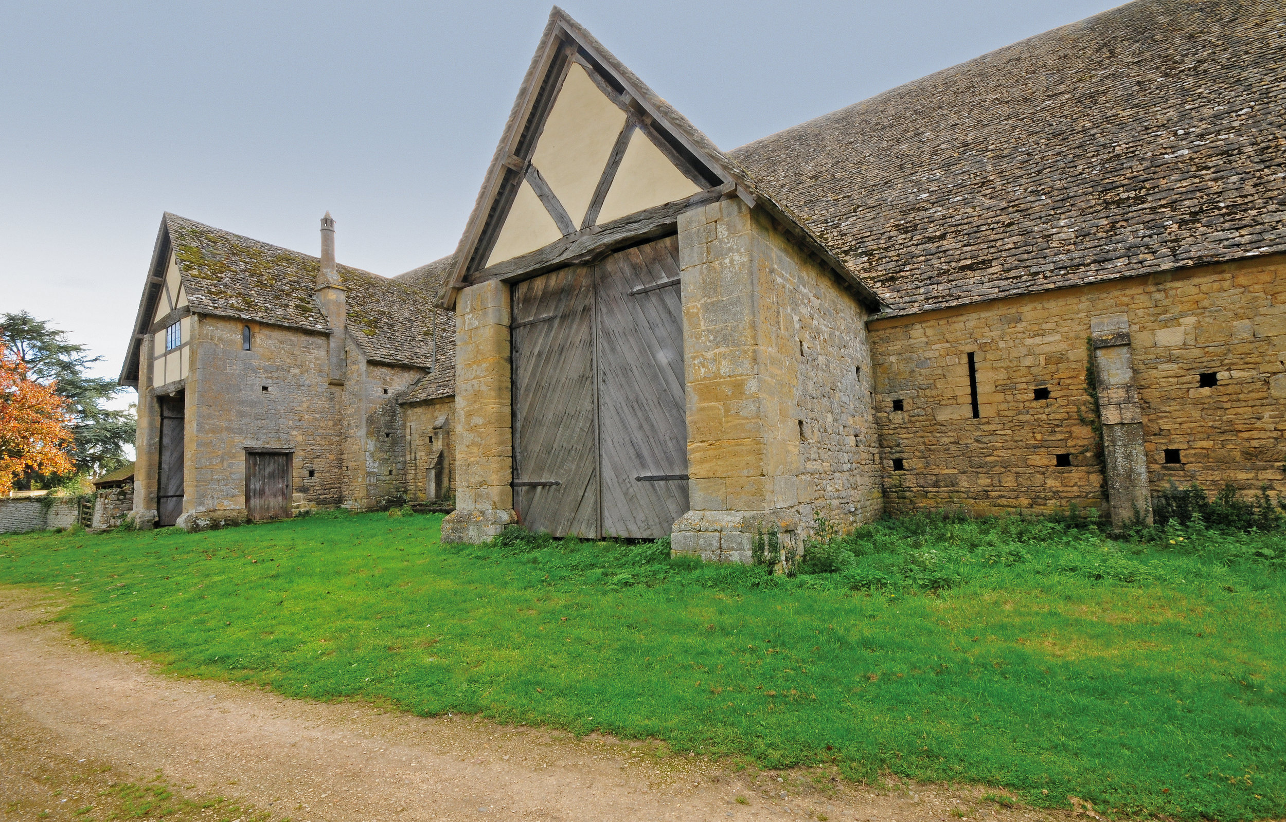 The Entrance, Bredon Tithe Barn, Bredon, Glos., England.jpg