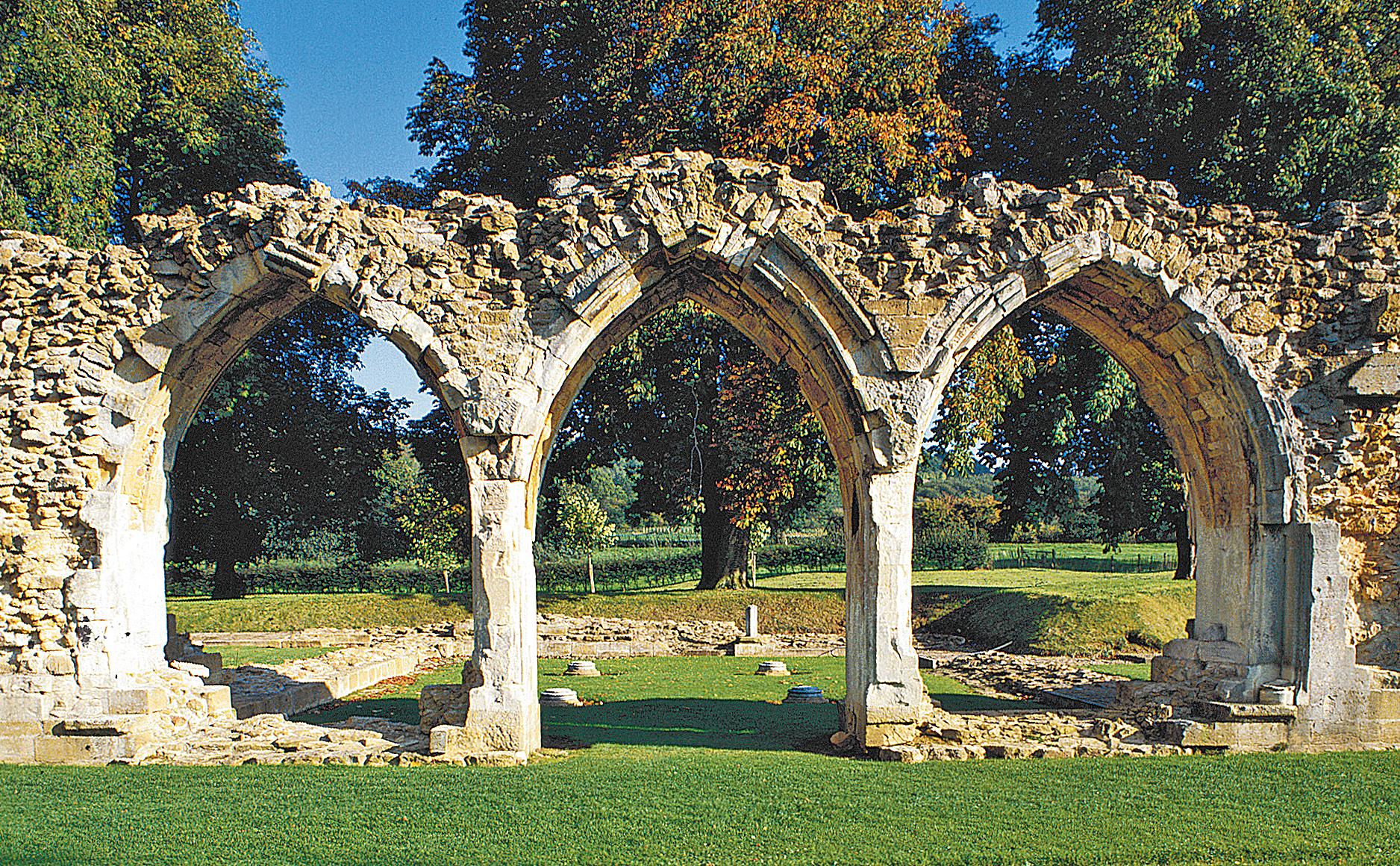 Hailes Abbey, Winchcombe, Gloucs., England.jpg