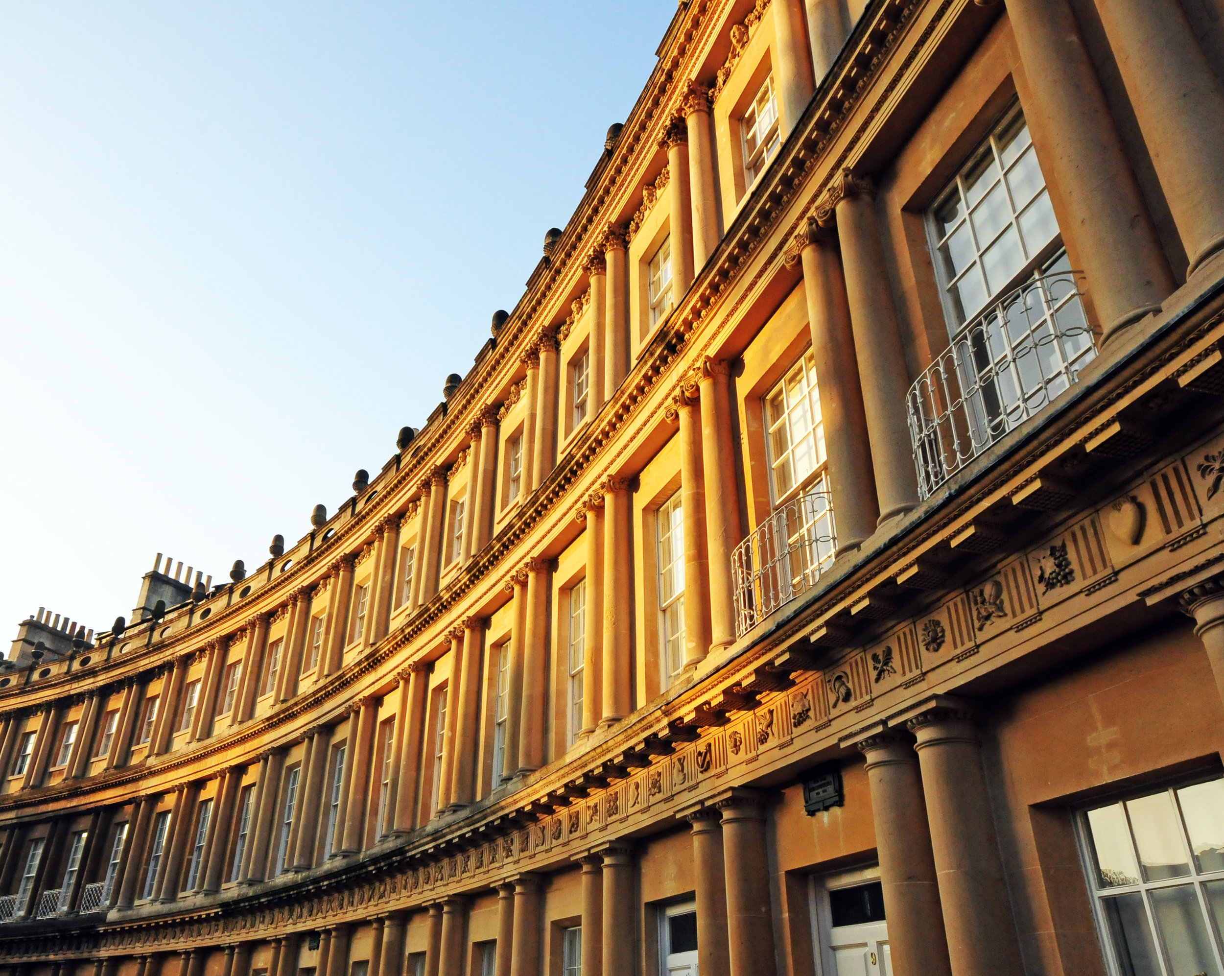 Golden Morning, The Circus, Bath, England.jpg