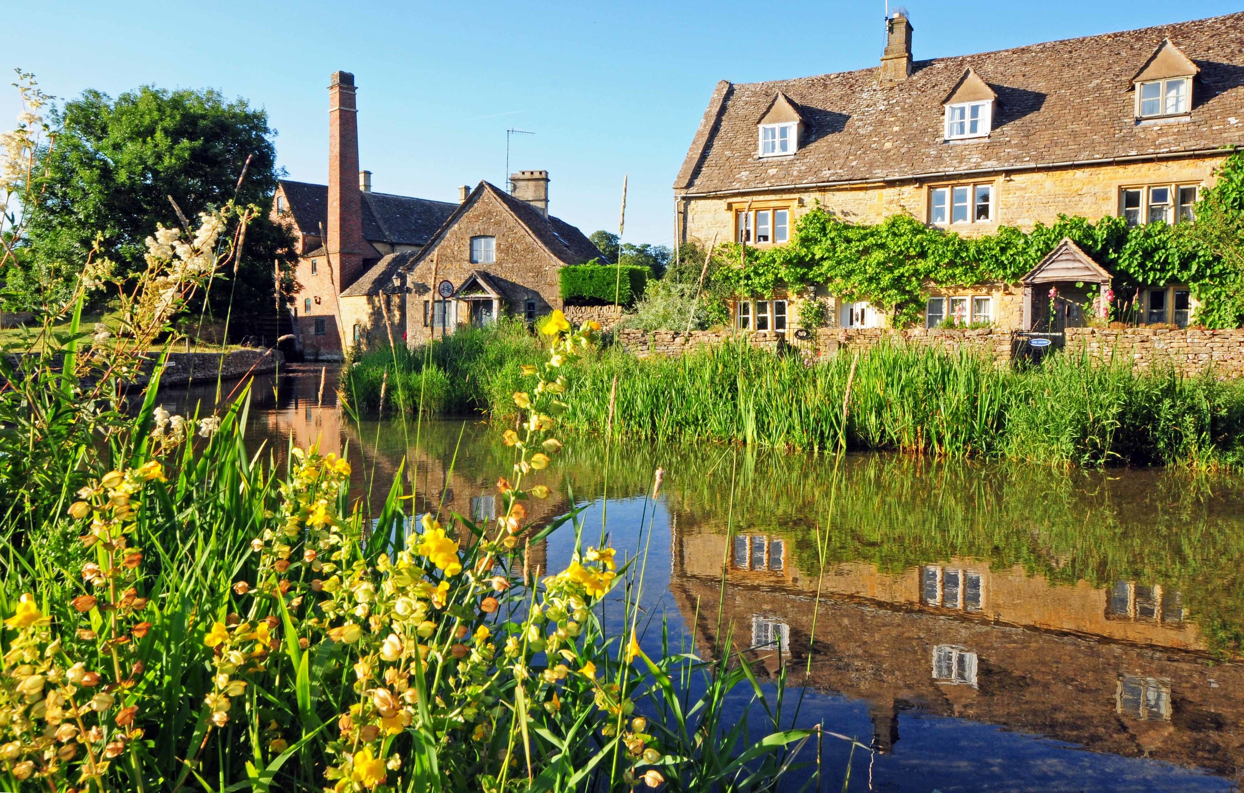 The Old Mill & Stream, LOwer Slaughter.jpg