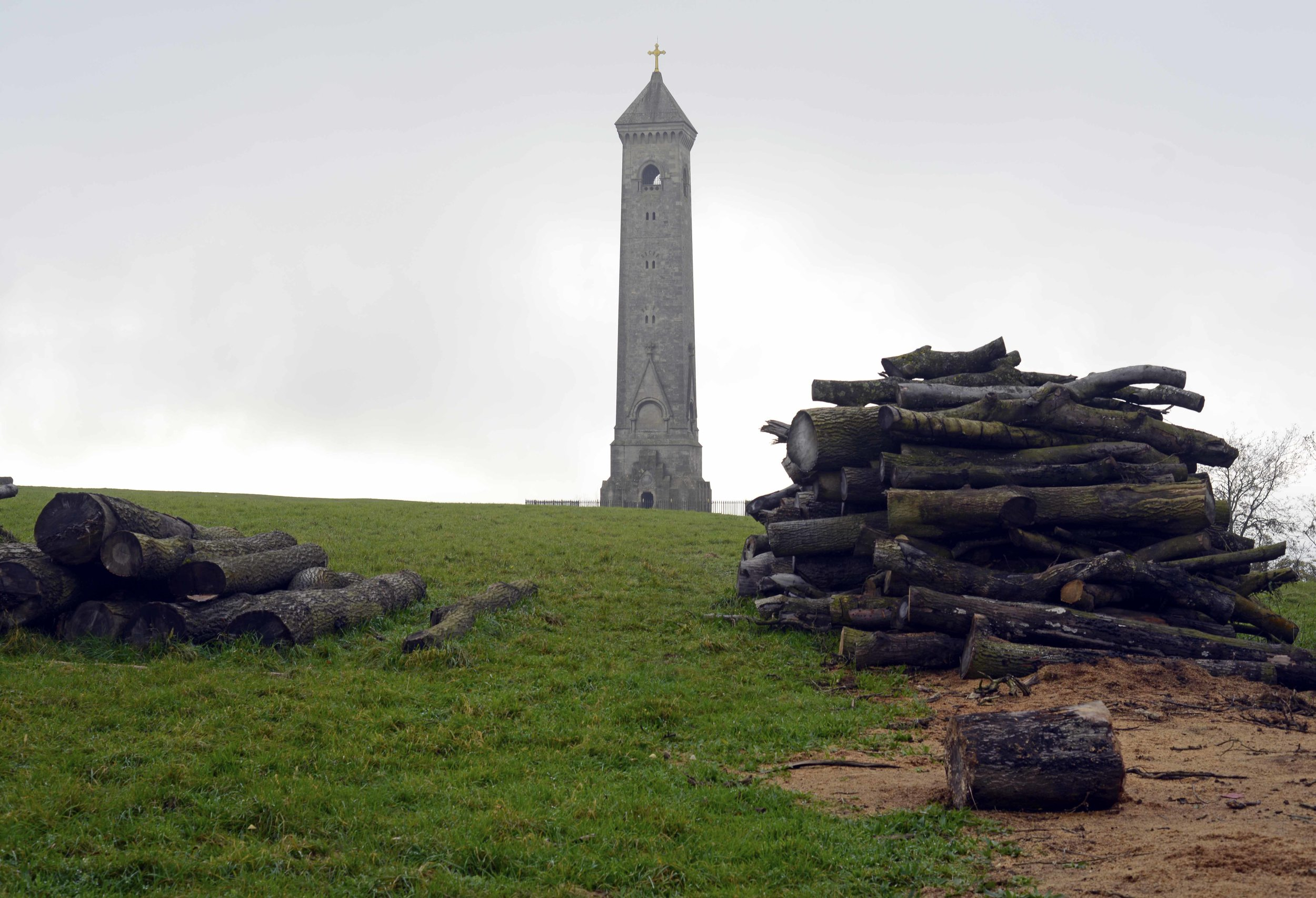 Tyndale Monument and firewood.jpg