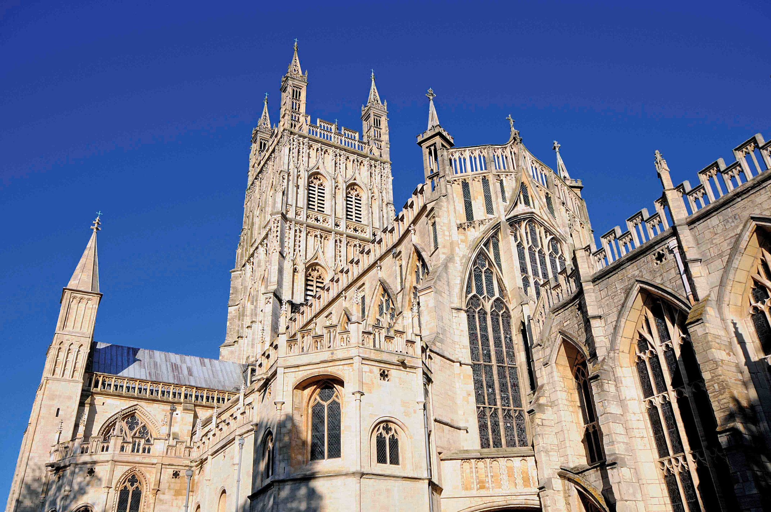 South View, Gloucester Cathedral, England.jpg