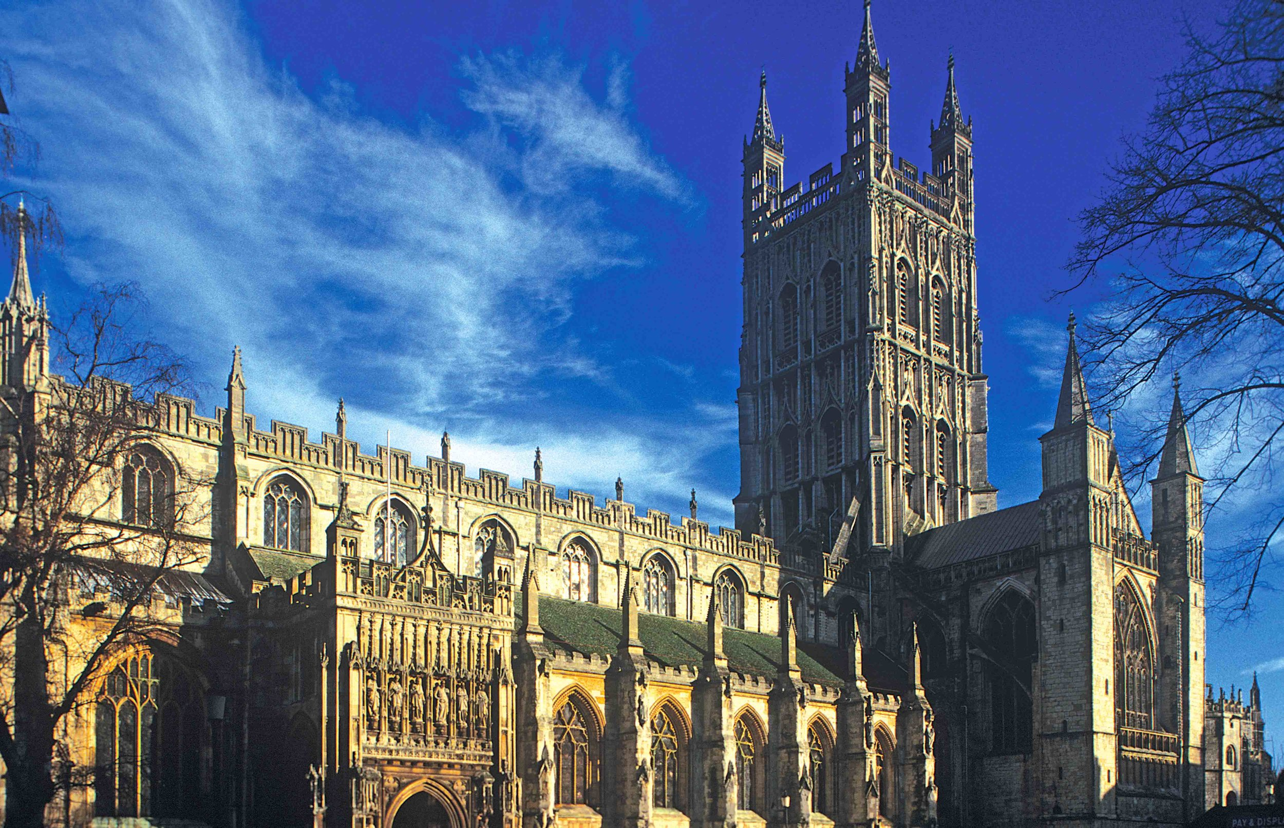 West Front, Gloucester Cathedral, Gloucester, England.jpg