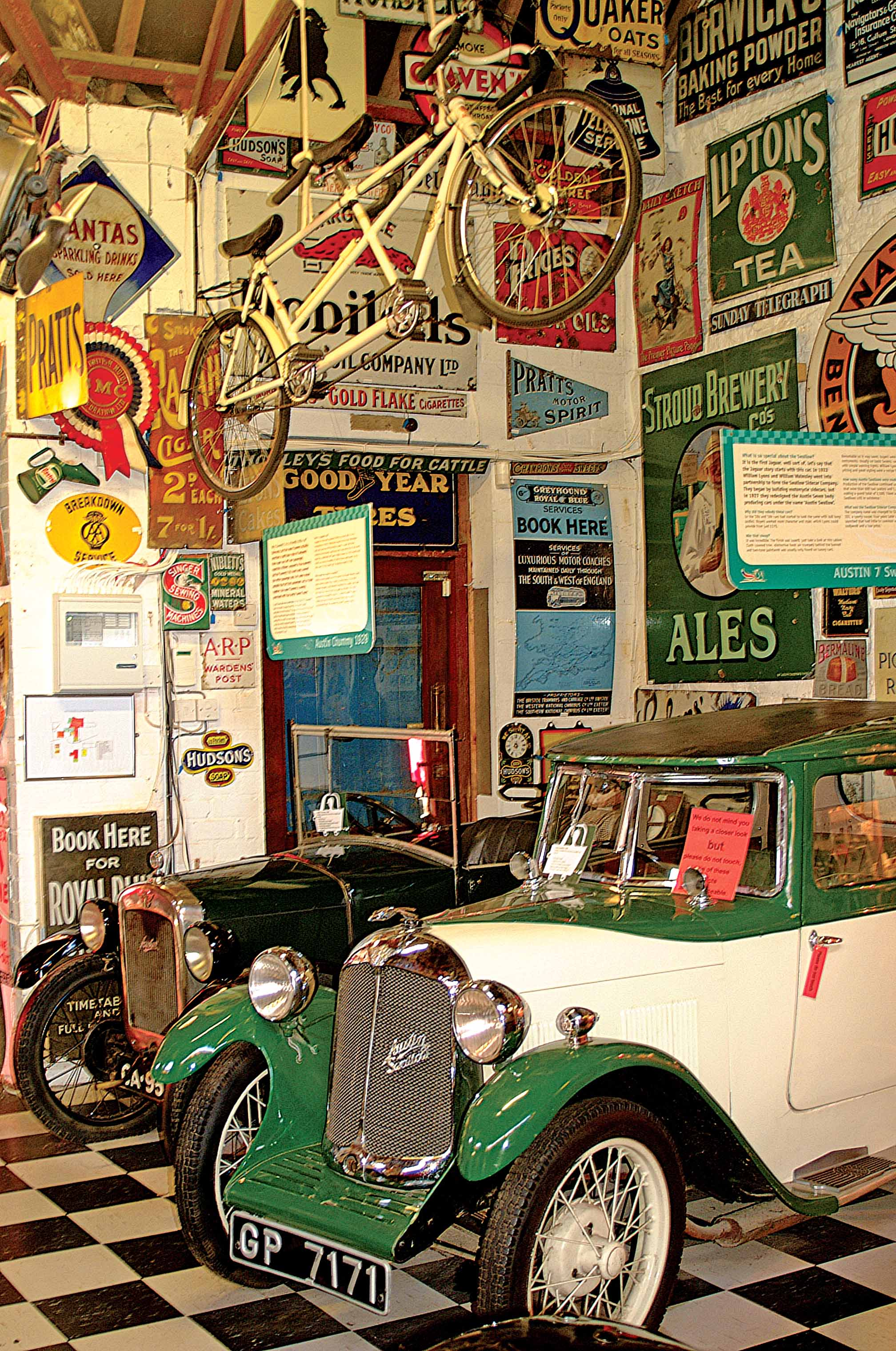 Cotswold Motoring Museum, Bourton on the Water, Glos, England.jpg