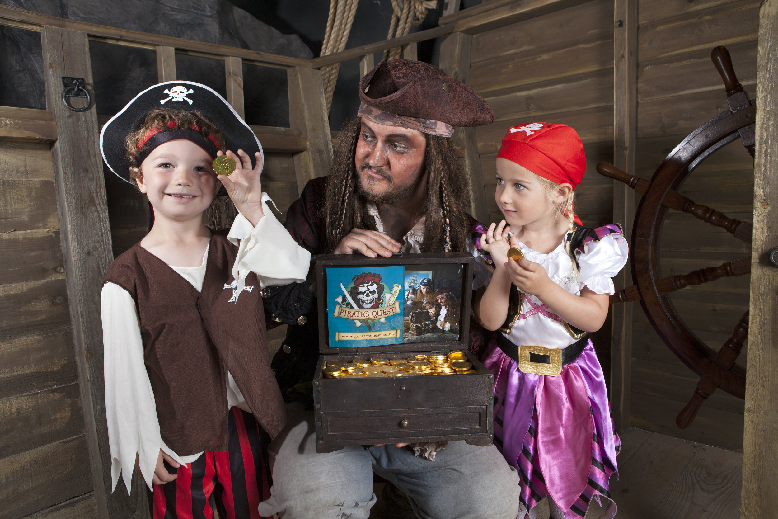 Finding Gold. Pirate's Quest. Newquay. Cornwall.jpg