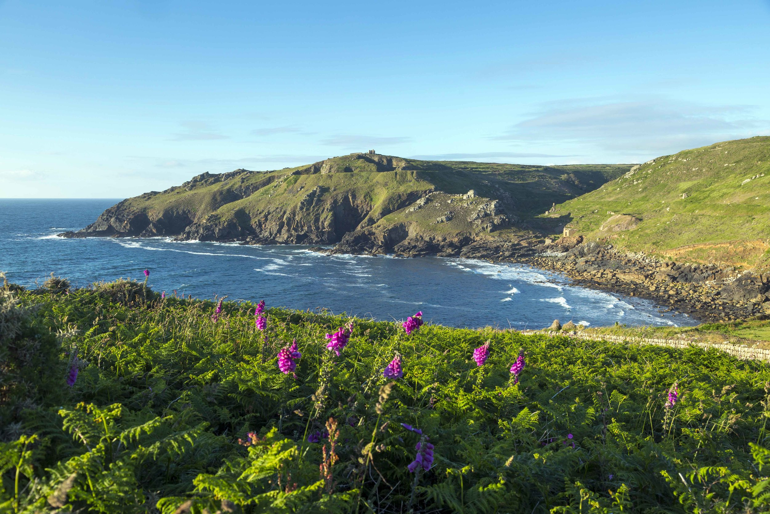 Cape Cornwall, St Just, John Miller.jpg