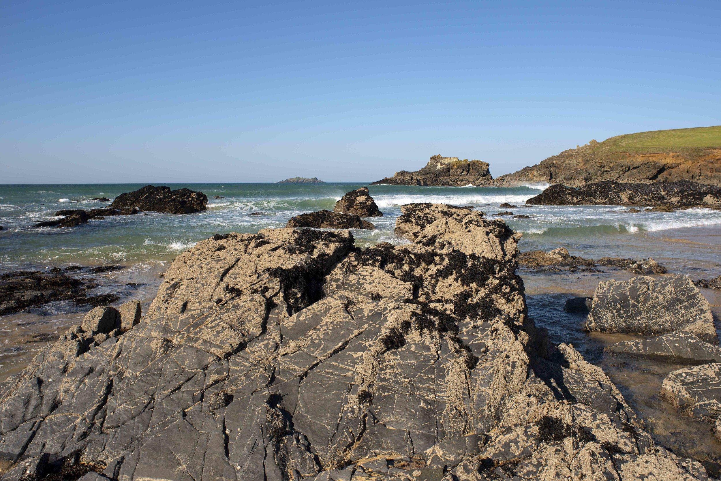 Rock Outcrops, Trevon Beach.jpg