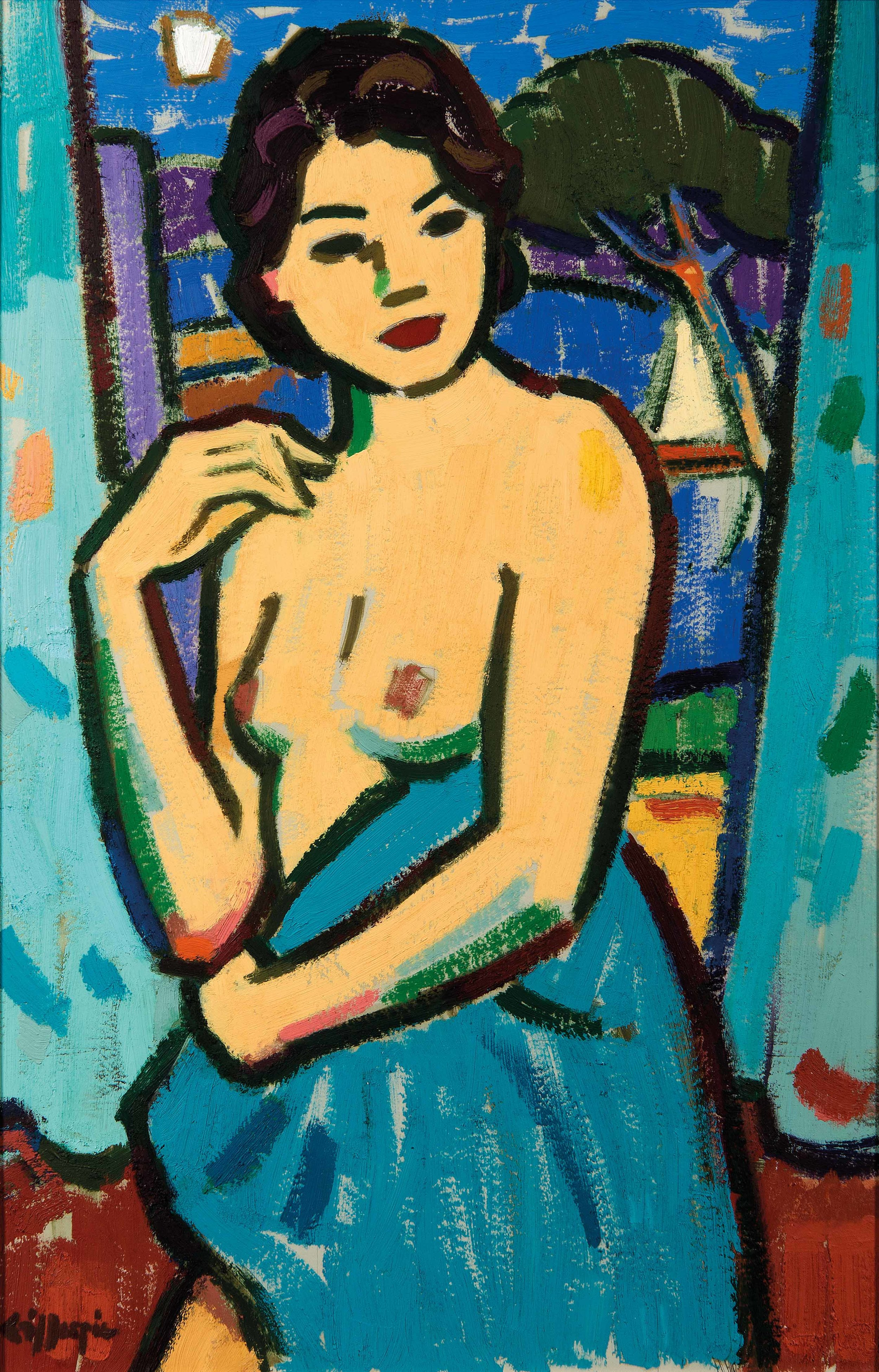 Bather by Joan Gillespie, The Richard Hagen Gallery, Broadway  ss.jpg