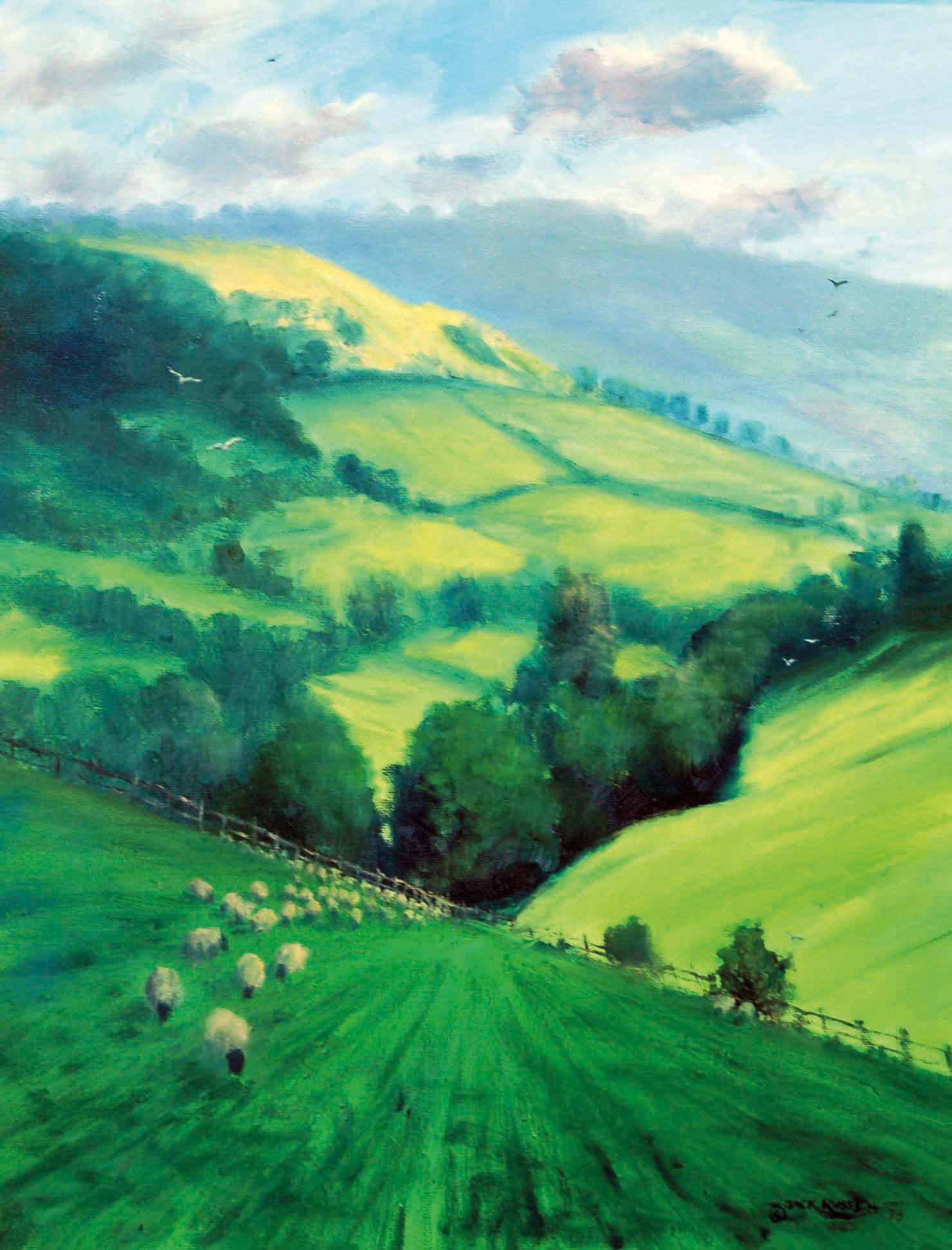 Sheep, Slad Valley, Jack Russell Gallery  ss.jpg