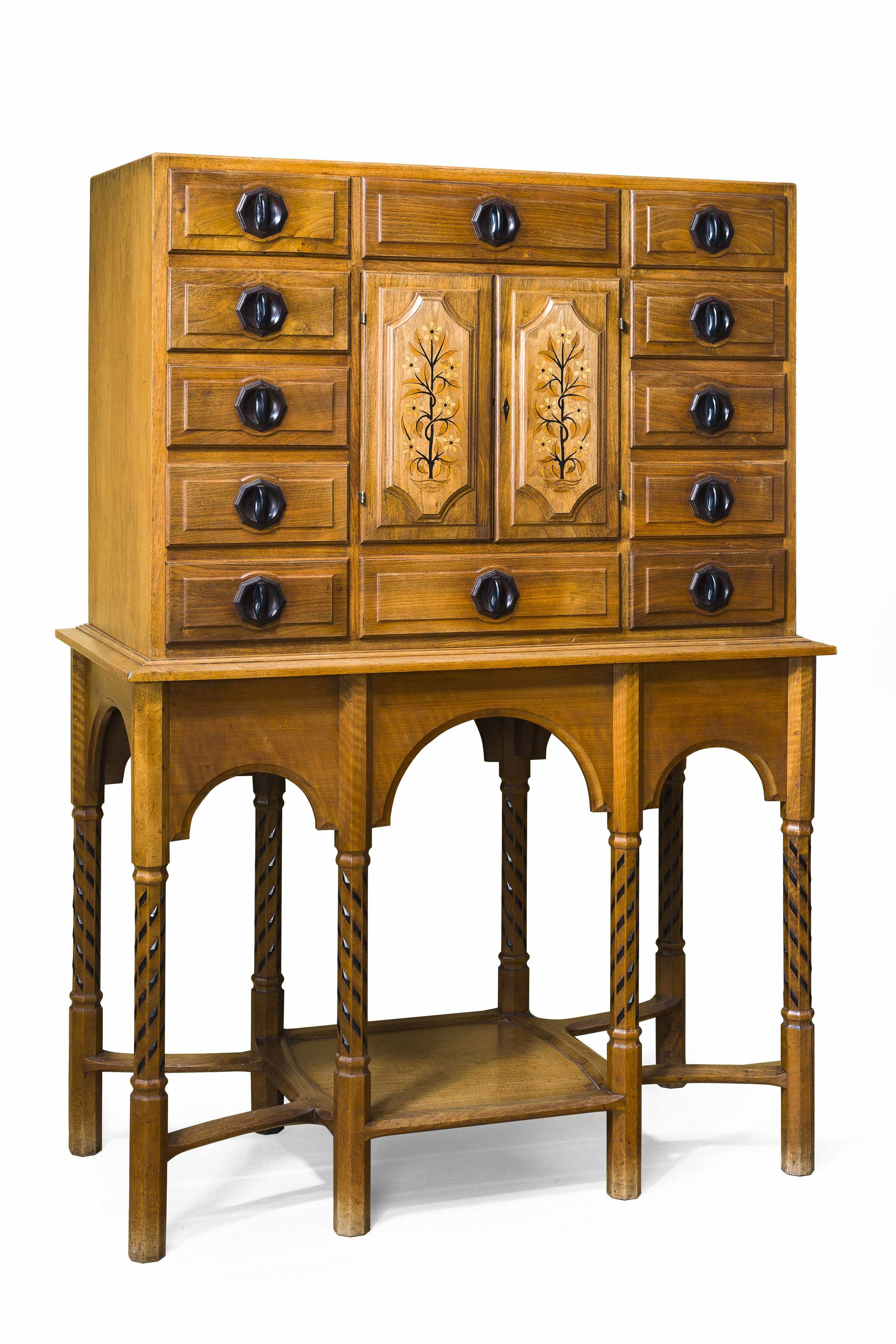 Paris Cabinet designed by G. Russell, inlaid walnut, 1924.jpg
