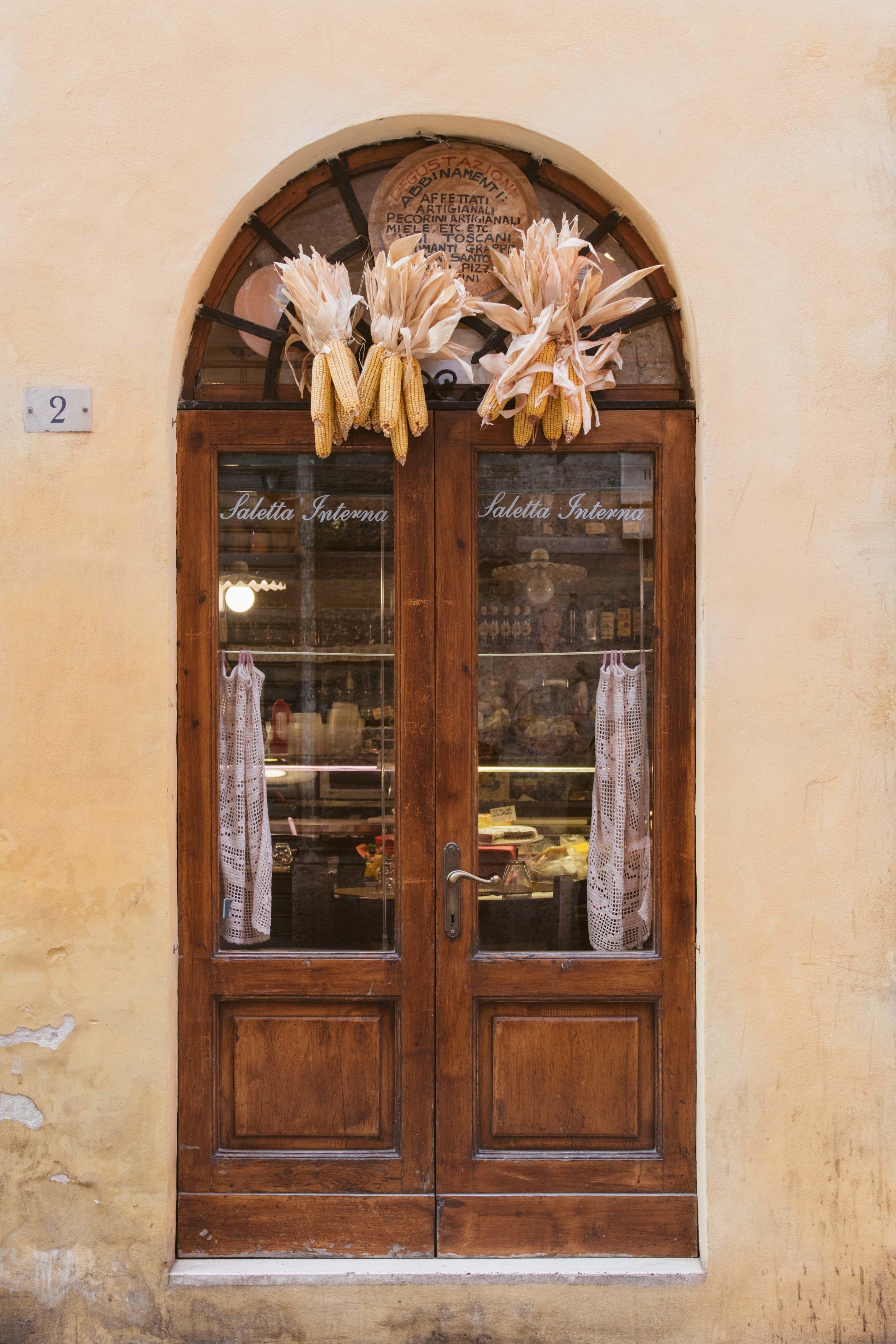 Siena Tuscany Italy - Via Tolila