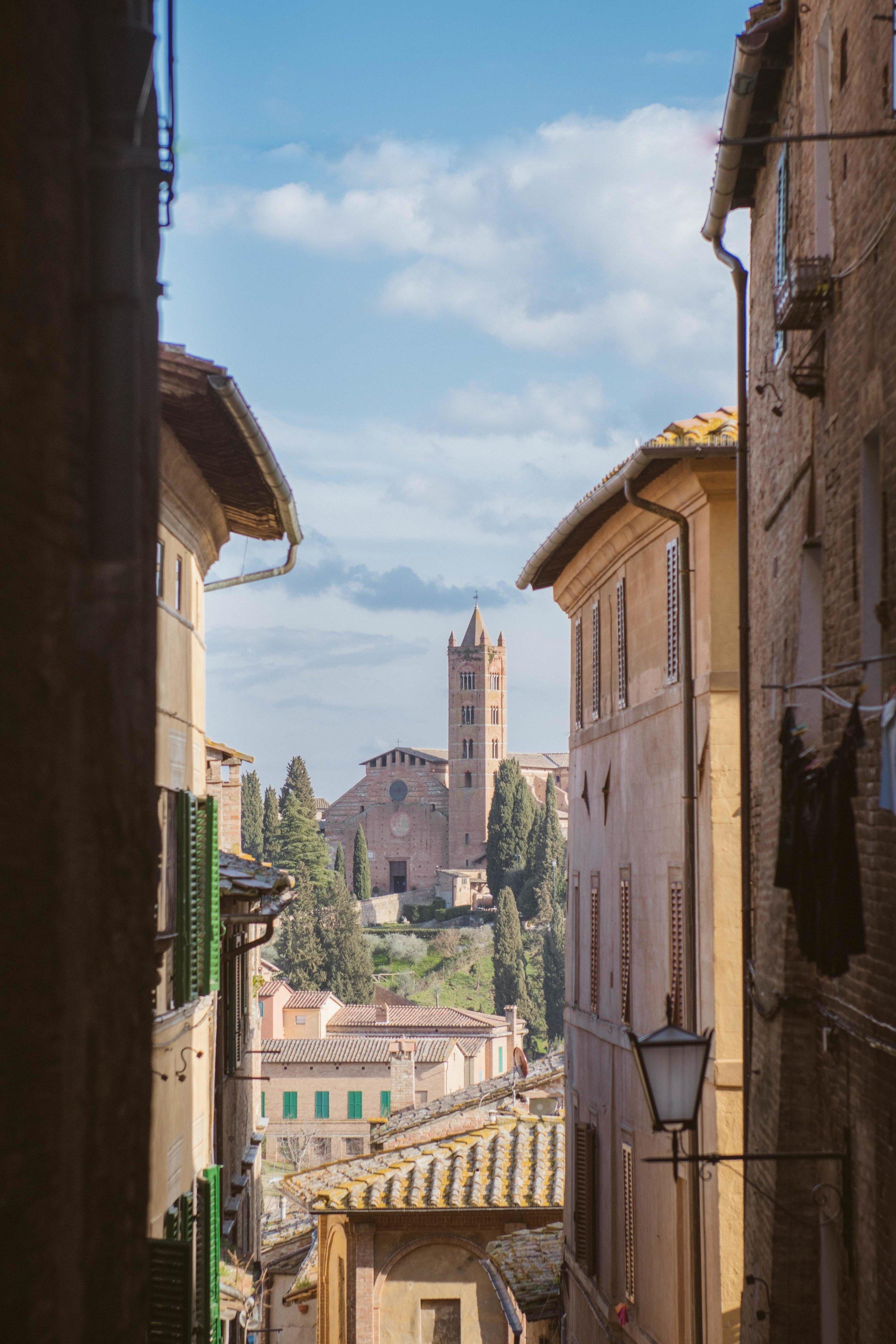 Siena Tuscany - Via Tolila
