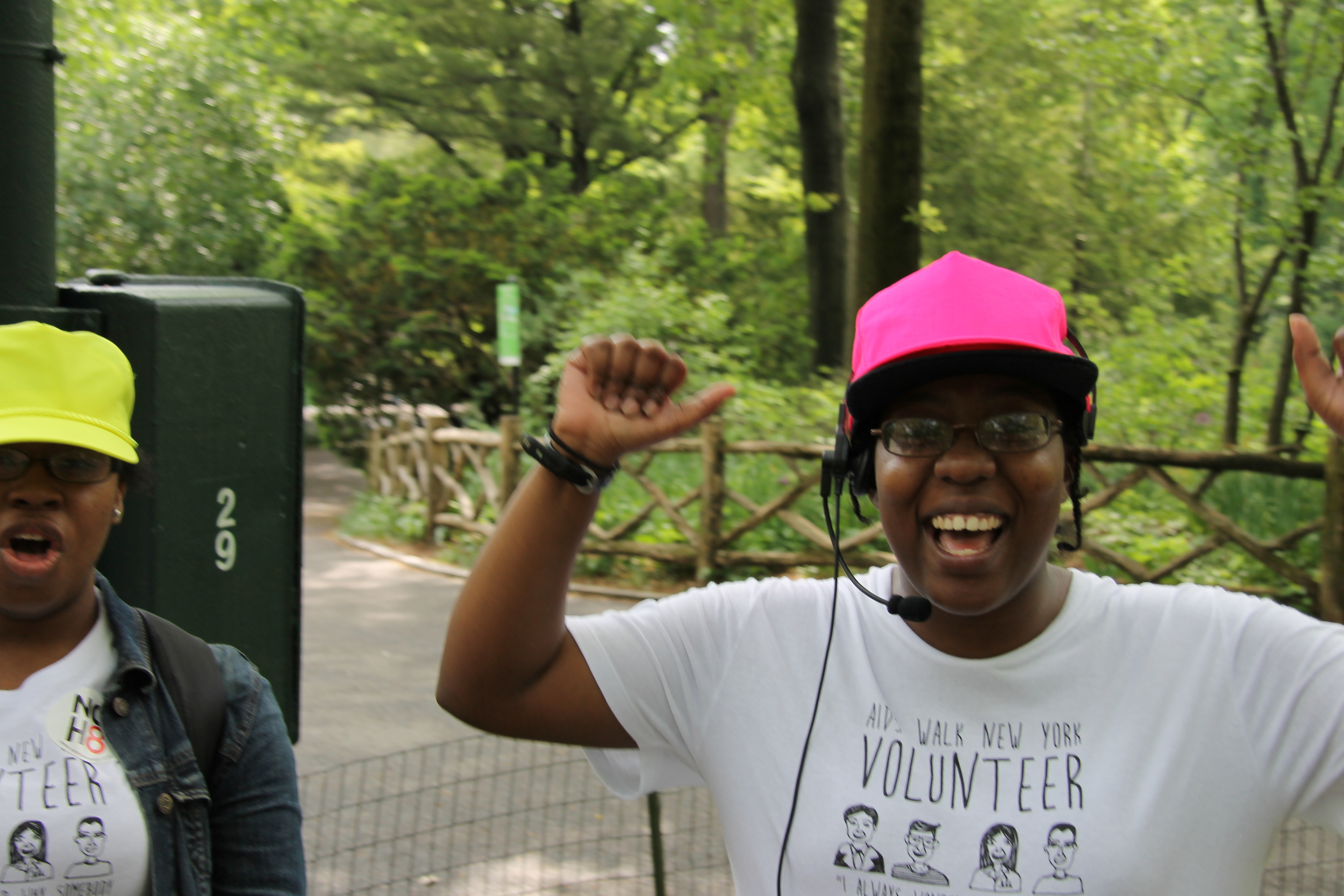 AIDS Walk Volunteer