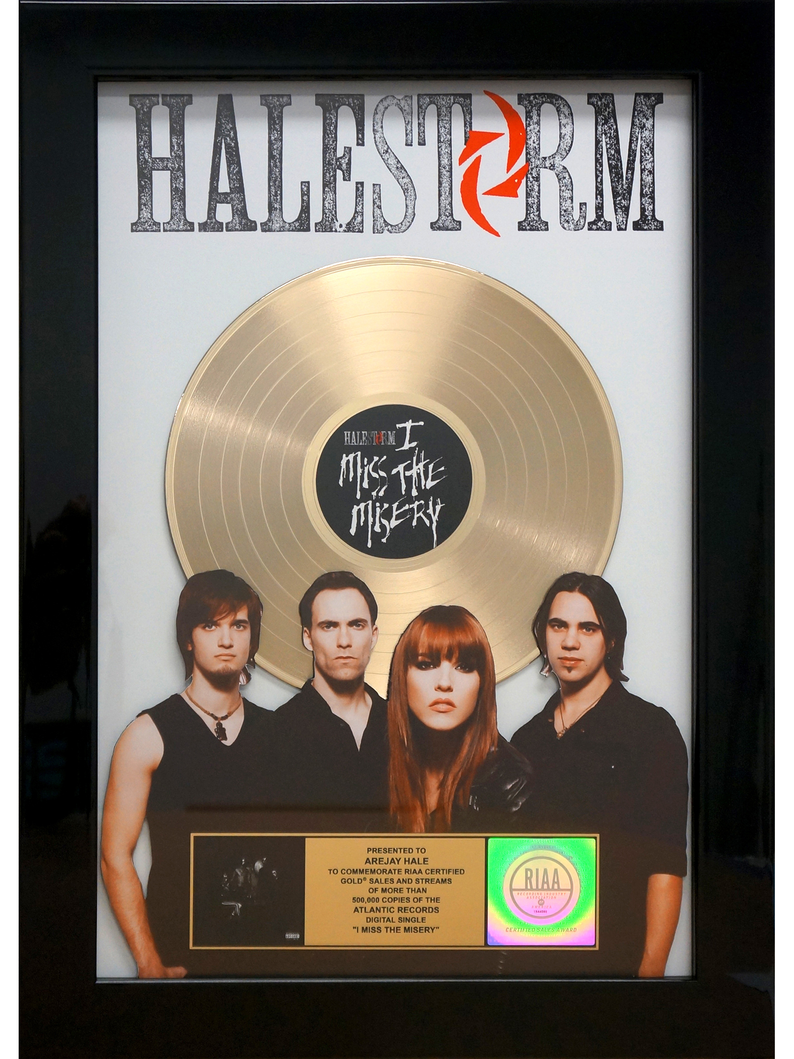 Halestorm Miss the Misery award photo.JPG