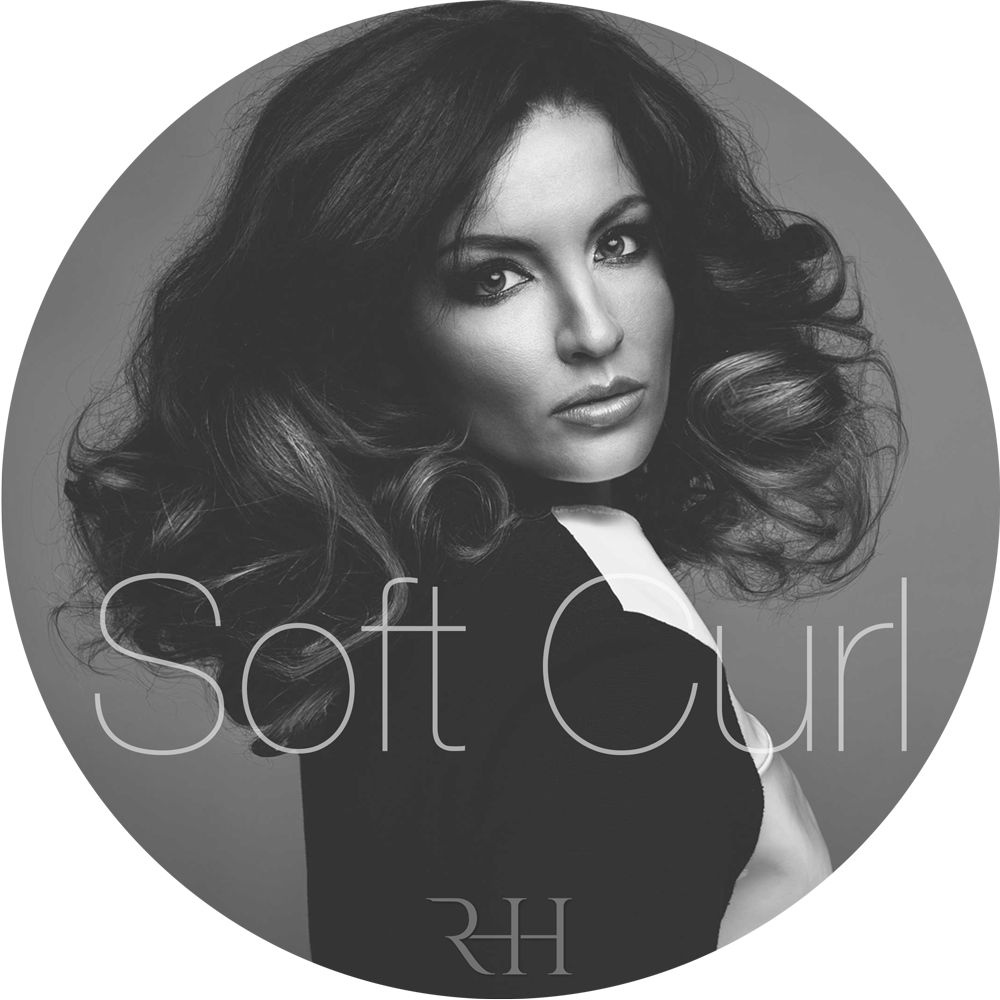 soft curl and curly micro ring hair extensions