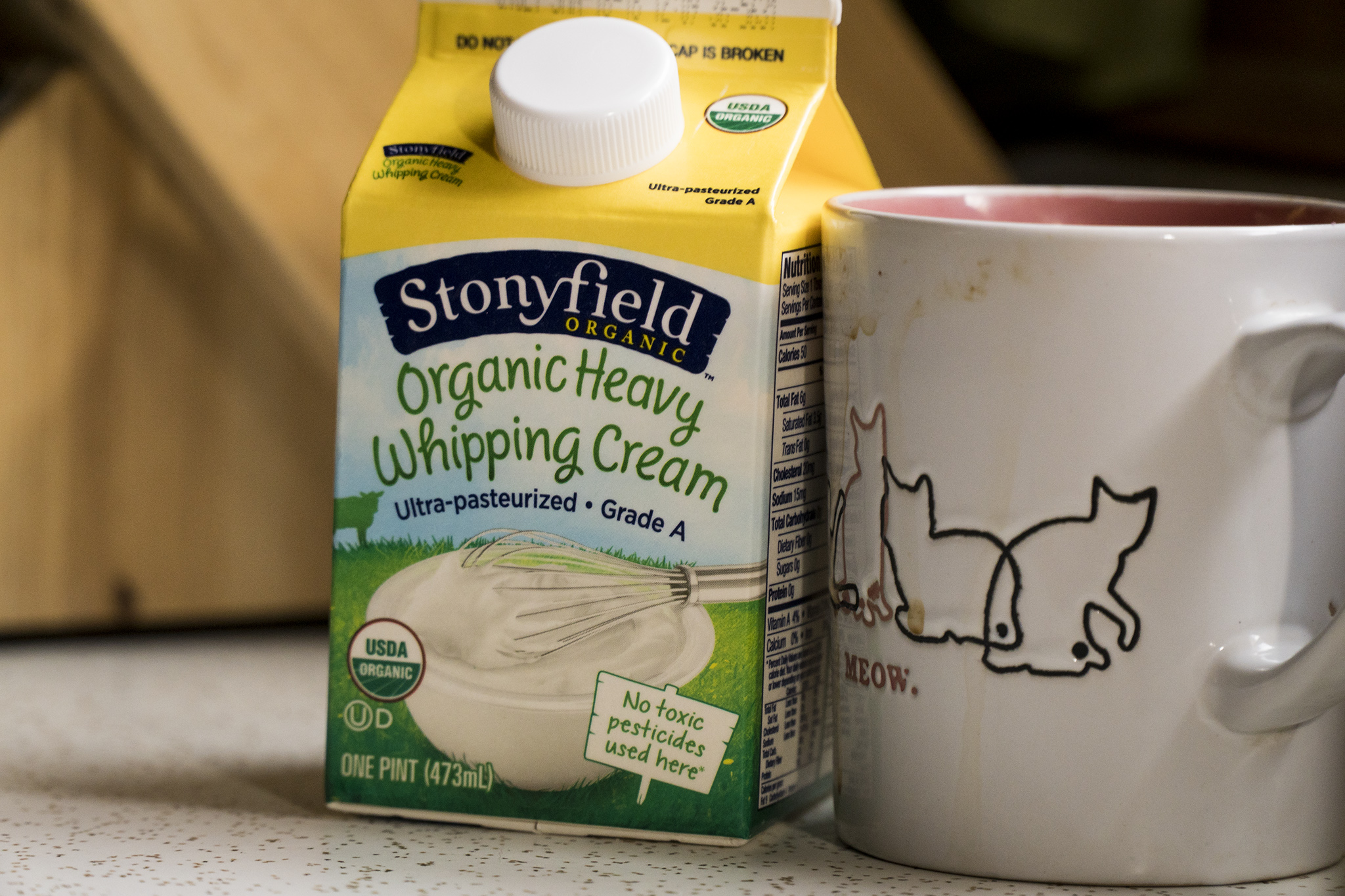 Can you survive on just heavy cream for 7 days???