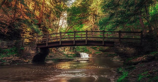 Bridge at #buttermilkfalls falls shot with #gh5 #photography #landscape #travel #wilderness #nature #waterfall #fineartphotography #fineart #hike #hiking