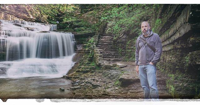#buttermilkfalls #longexposure #selfportrait #selfie #photography #fineartphotography #waterfall #nature #hiking #gorge #portrait