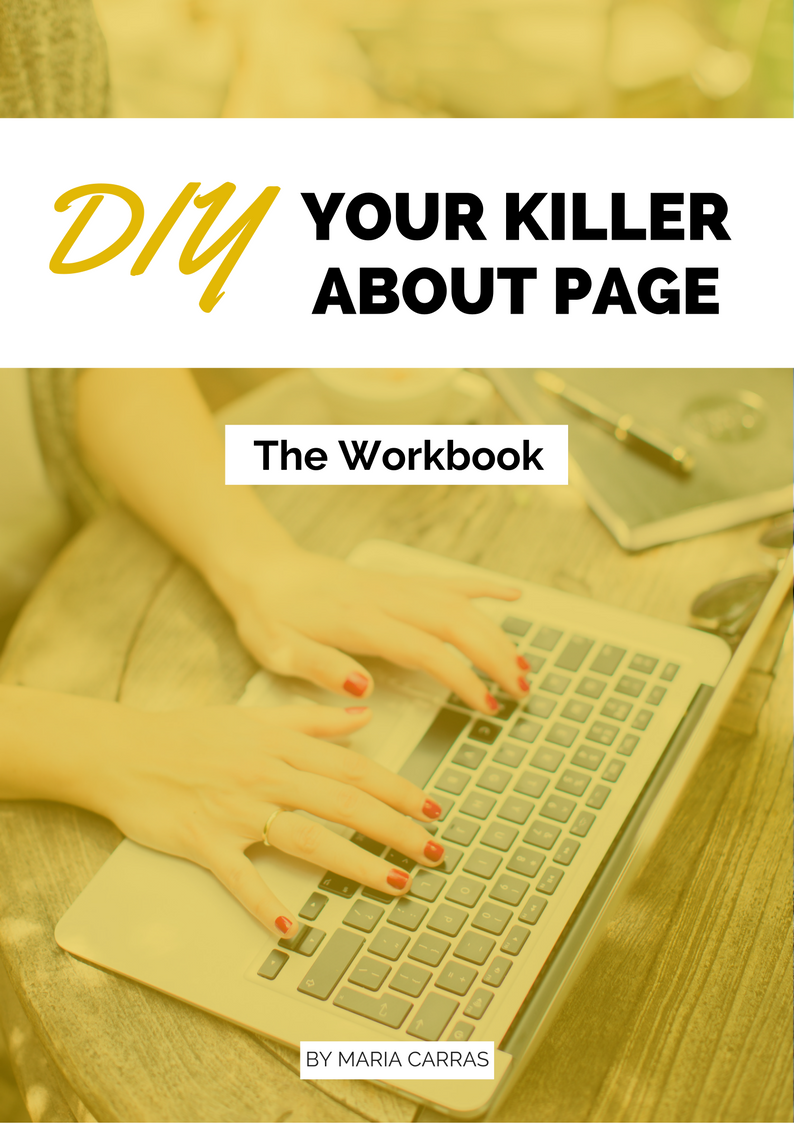 DIY Your Killer About Page Toolkit