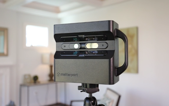 Matterport Camera Front in House