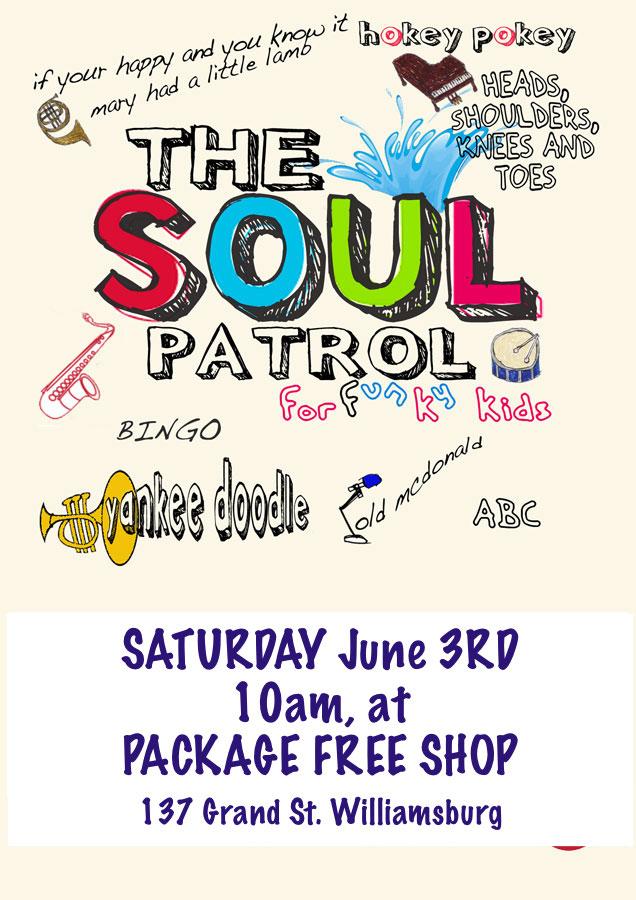 Soulpatrolforfunkykids_poster_package free shop