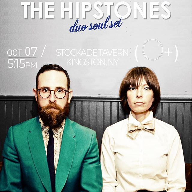 @opositivefest is hitting kingston this weekend. Follow link above to get pre sale specials on wristbands. Catch @thehipstones soul duo at @stockadetavern Sunday oct 7th at 5:15pm (family hour). And we will also be singing with the beautiful #clareandthereasons on Friday night at @theolddutchchurch at 9pm. #opsitivefest #kingstonny #soulduo #villagecoffeeandgoods