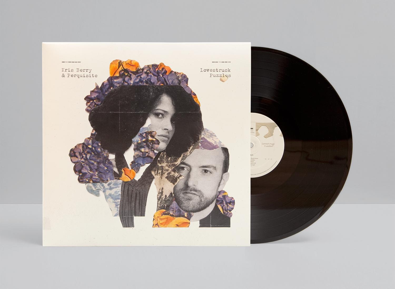 Kris Berry & Perquisite – Lovestruck Puzzles 2013. Album artwork with handmade collages.