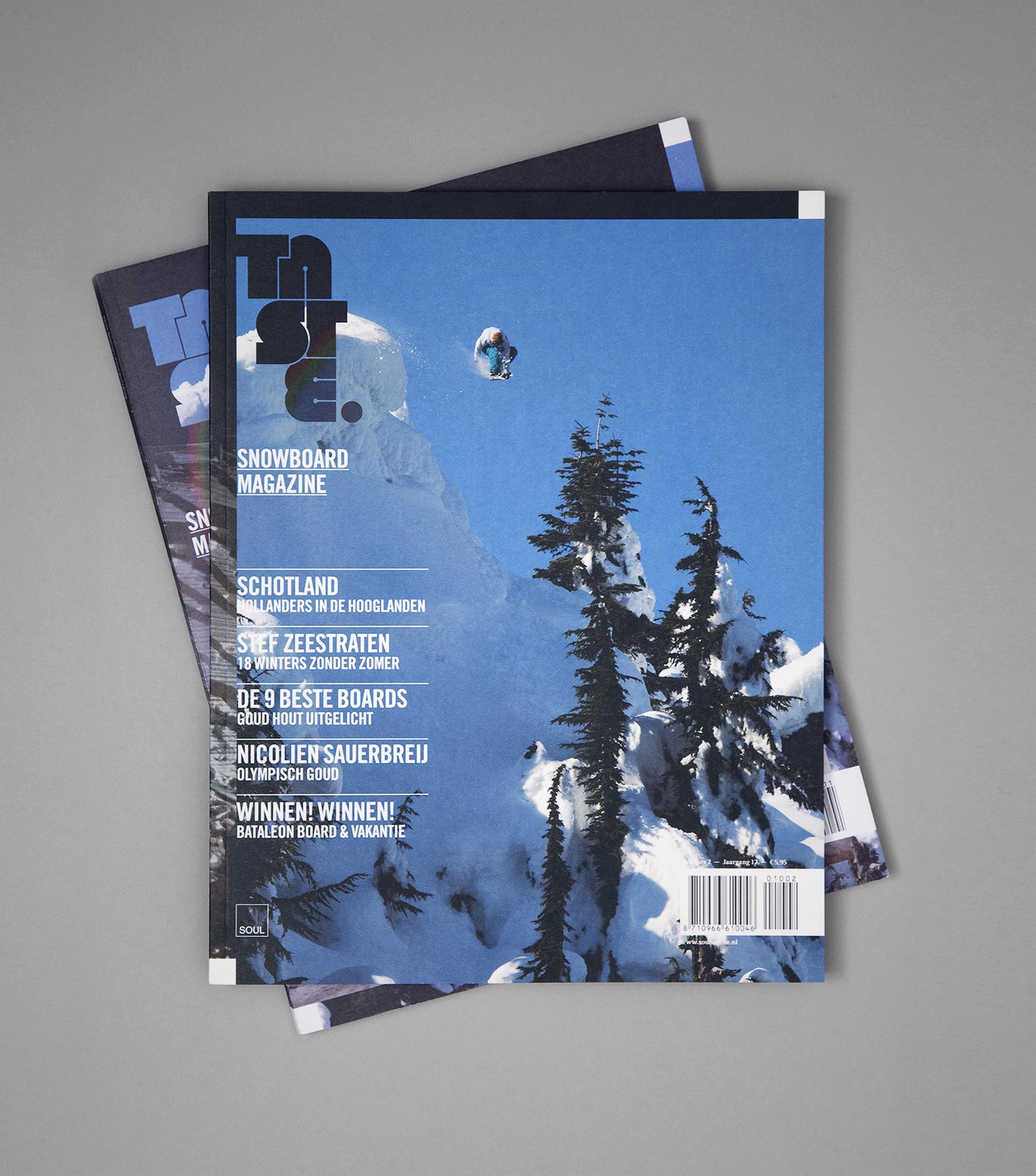 Taste Snowboard Magazine 2010.