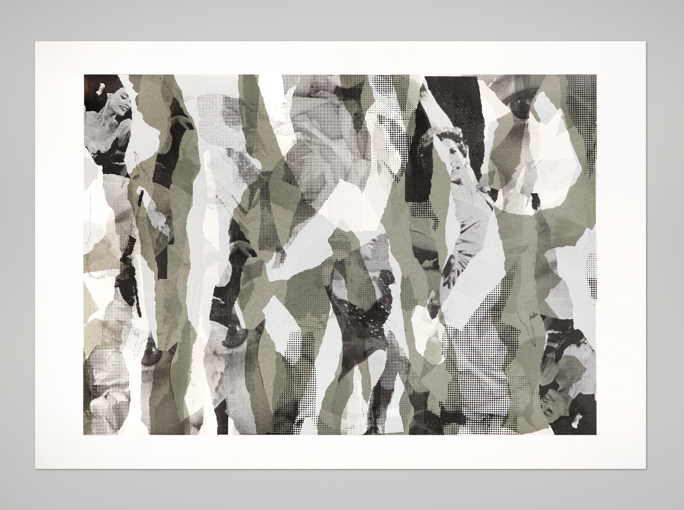 Dancers –3 colorsscreen prints, 70x50 cm, 2014