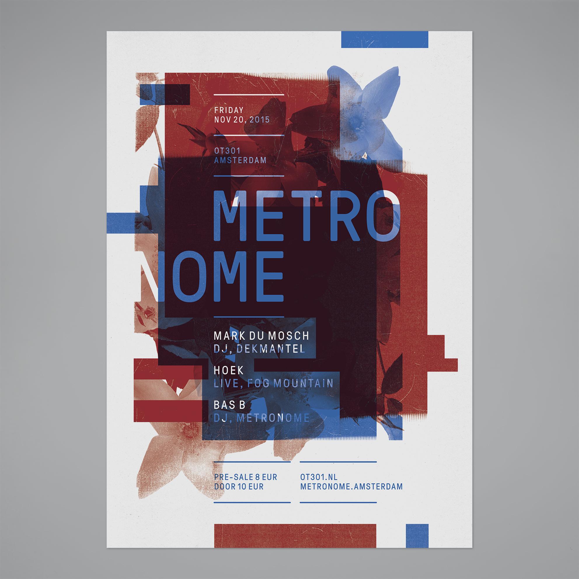 Metronome – Poster, 2015