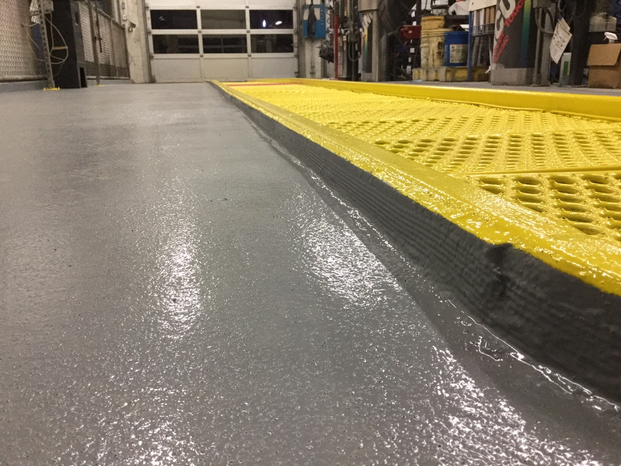 Final system- restored concrete and a protective system for future protection