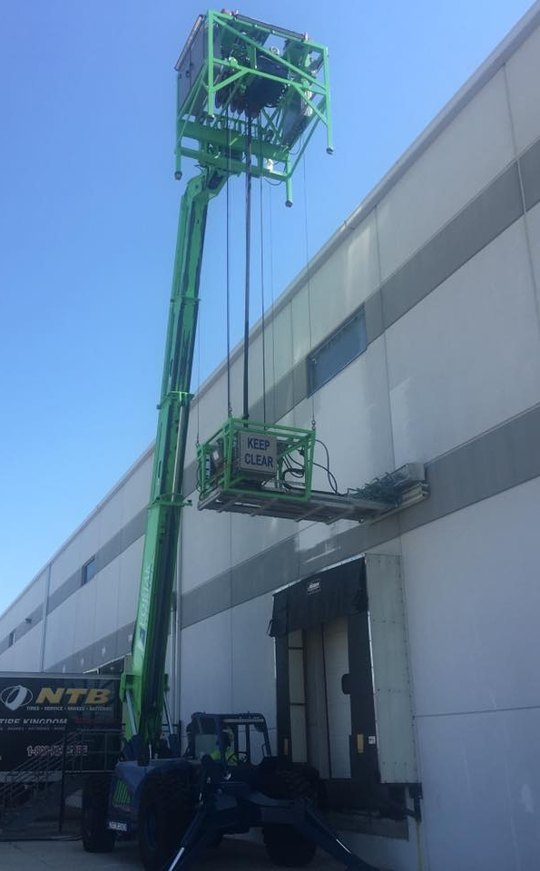 Repainting warehouse, recoat