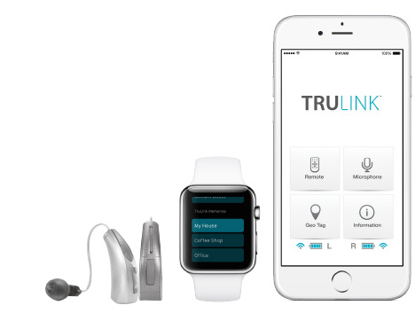 New hearing aids can sync with smartwatches and smartphones easily.