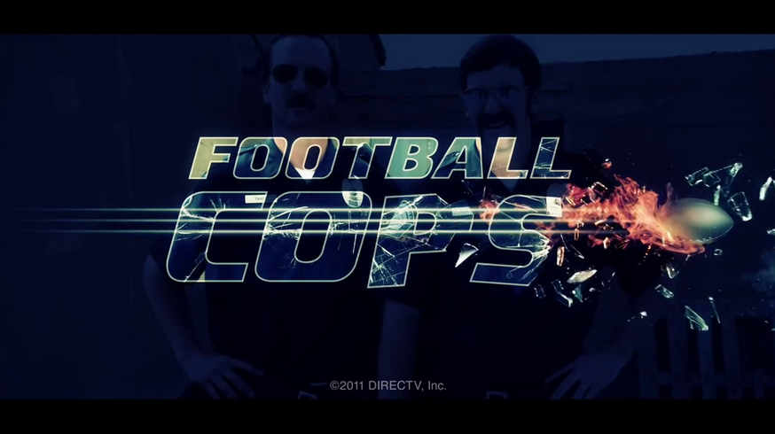 "DIRECTV - ""Football Cops"""