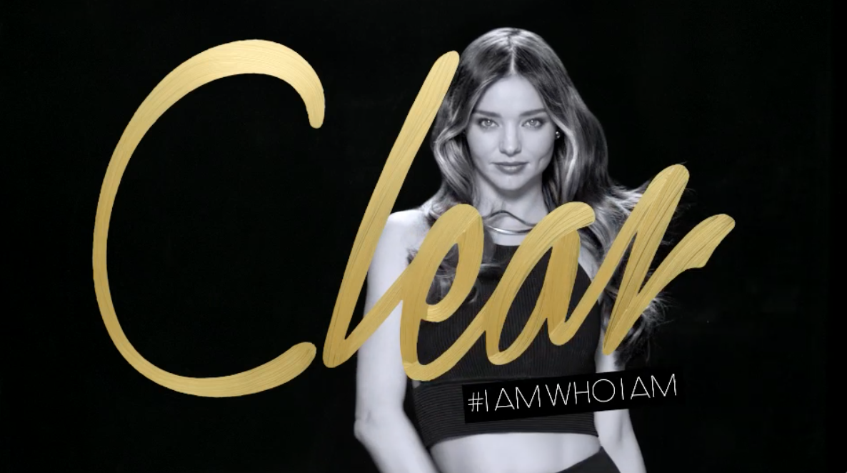 "Clear - Miranda Kerr ""I Am Who I Am"""
