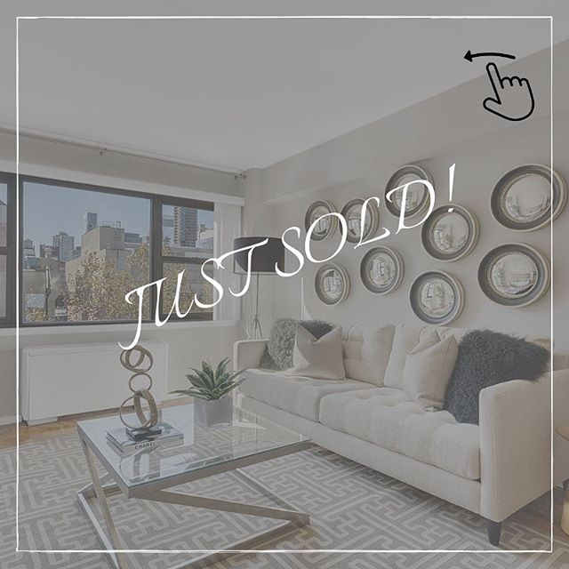 🎉JUST SOLD🎉  Congratulations to both the seller and the buyer of this amazing 1-bedroom at 345 East 69th street!  After 420 days on the market with another agent, the seller decided to make a change and hired me. After staging the apartment impeccably and creating a new marketing plan, #8G sold in just 81 days and for 98% of the asking price!  Please feel free to shoot me an email if you are trying to sell your home and think it may need a similar refresh and rebrand.