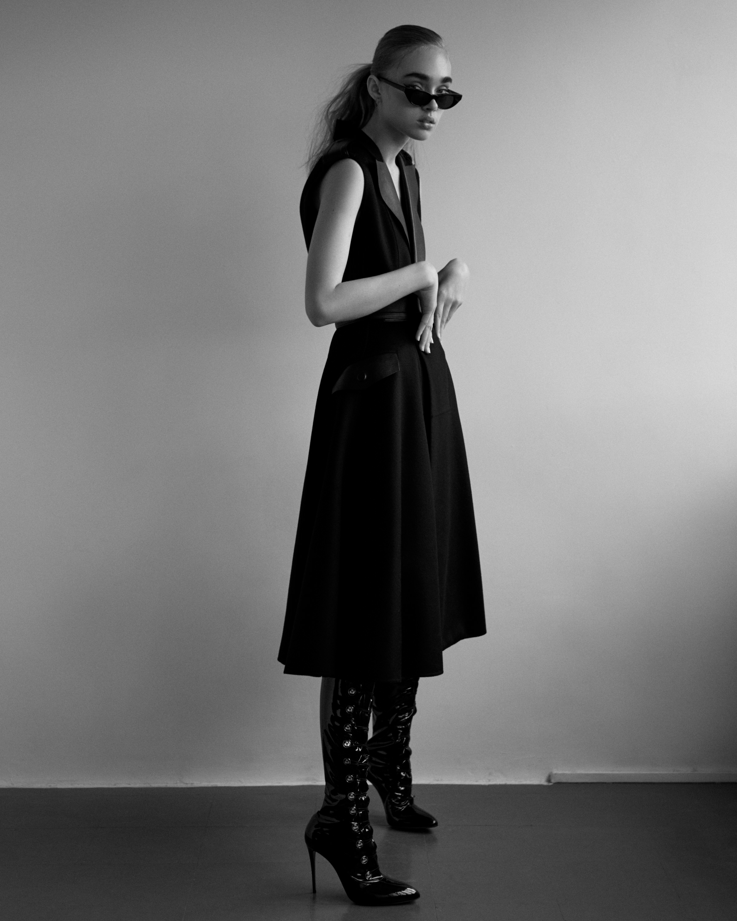 Editorial Fashion Photography For Hunger by Martin D Barker